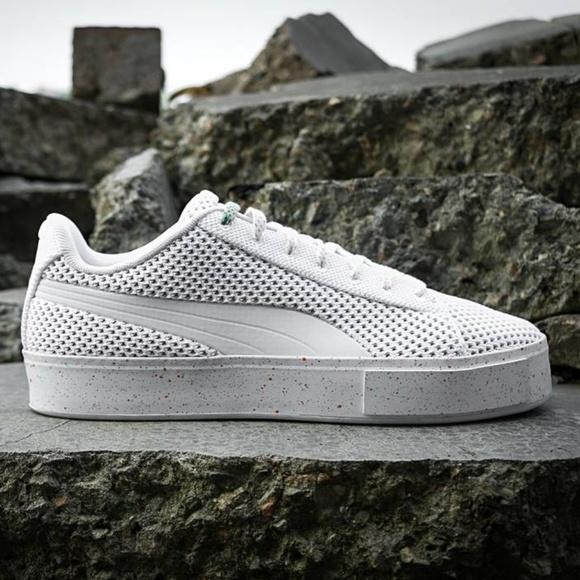 5953c57cff2f80 PUMA DAILY PAPER Court Platform KnitSplat Sneaker